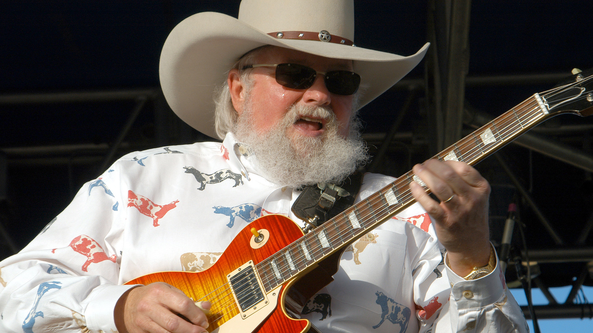elvin bishop, black oak arkansas, steve earle, urban cowboy, chris ledoux, hank williams iii, molly hatchet, aaron lewis, mickey gilley, fire on the mountain, martina mcbride, the marshall tucker band, madolyn smith osborne, the devil went down to georgia, on charlie daniels