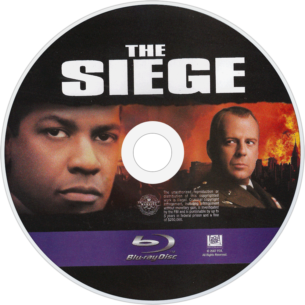 The Siege bluray disc image