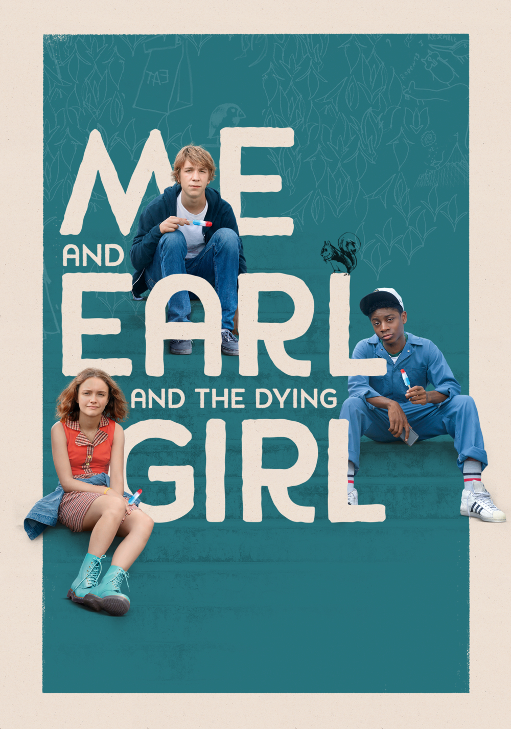 Image result for me and earl and the dying girl movie poster""