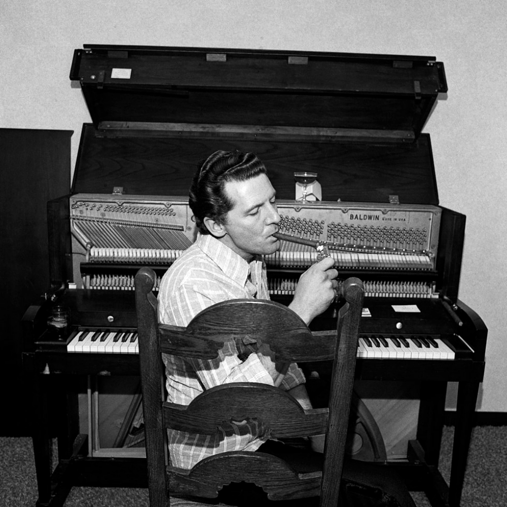 Jerry lee lewis high school confidential sheet music notes, chords.