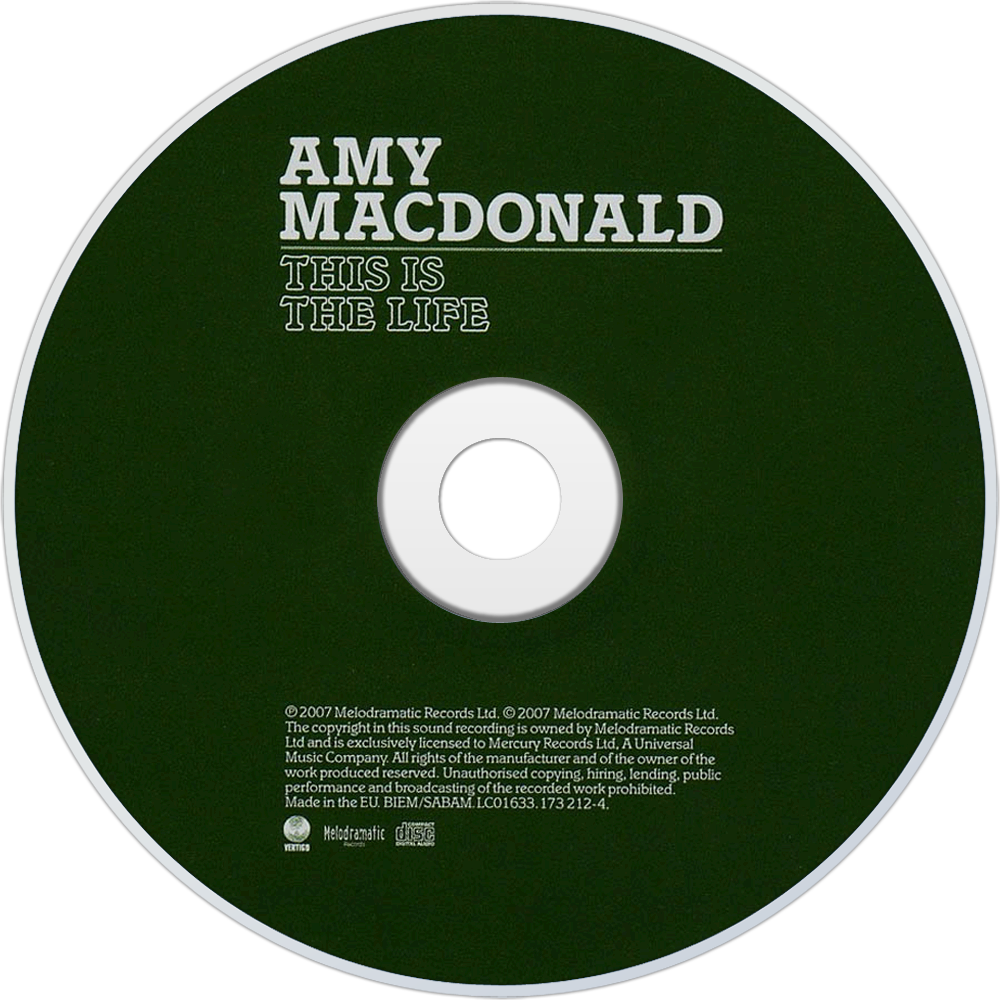 Amy macdonald this is the life ноты для пианино.