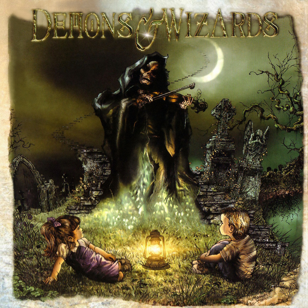 Image result for Demons & Wizards – Demons & Wizards album 2000