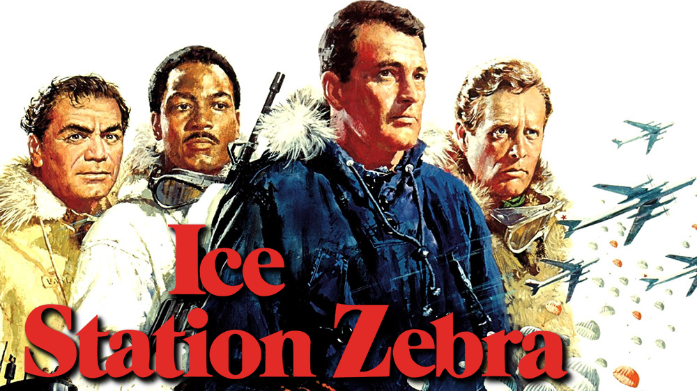 Image result for ice station zebra movie poster