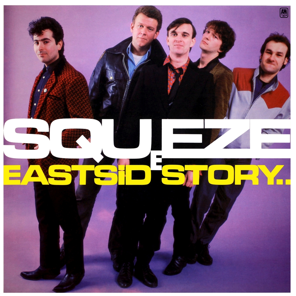 Album art exchange east side story by squeeze album cover art.