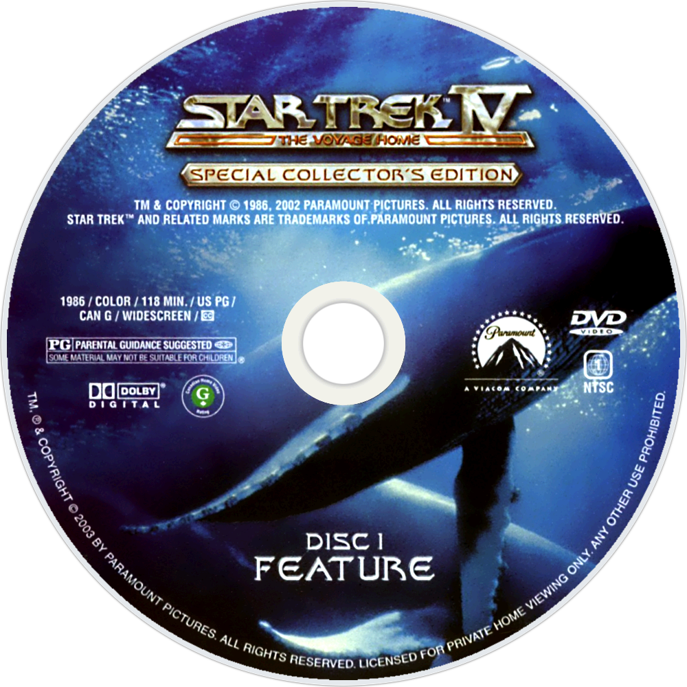 Star trek iv the voyage home blu-ray cover dvd covers & labels.