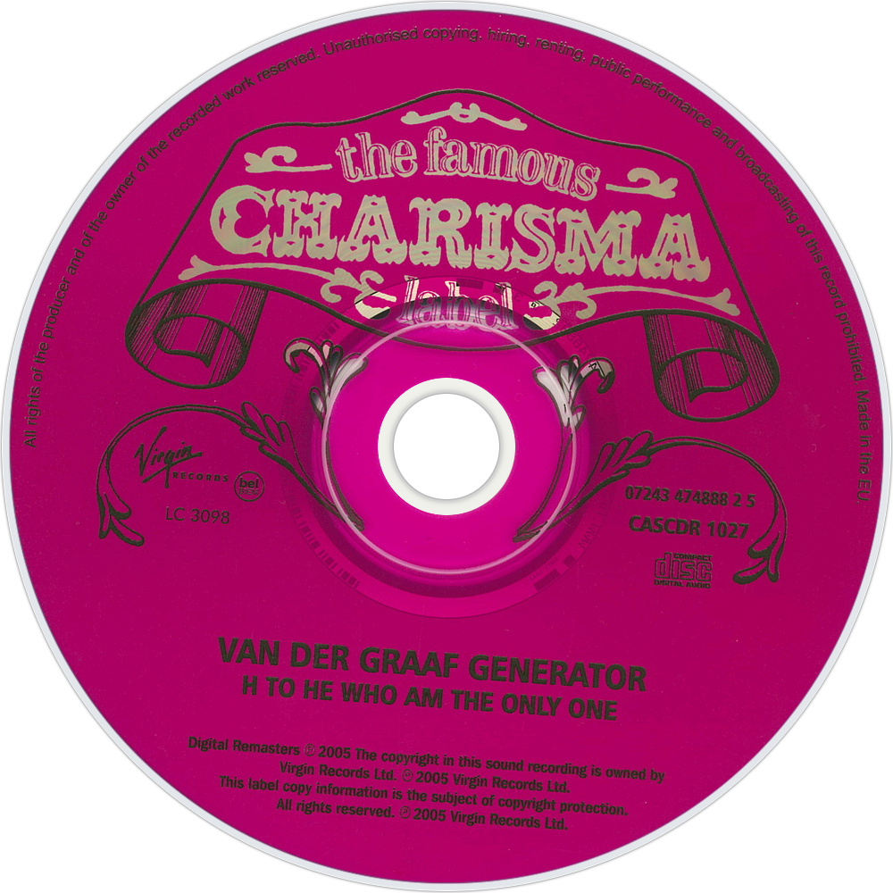 Van der graaf generator h to he who am the only one traduzione