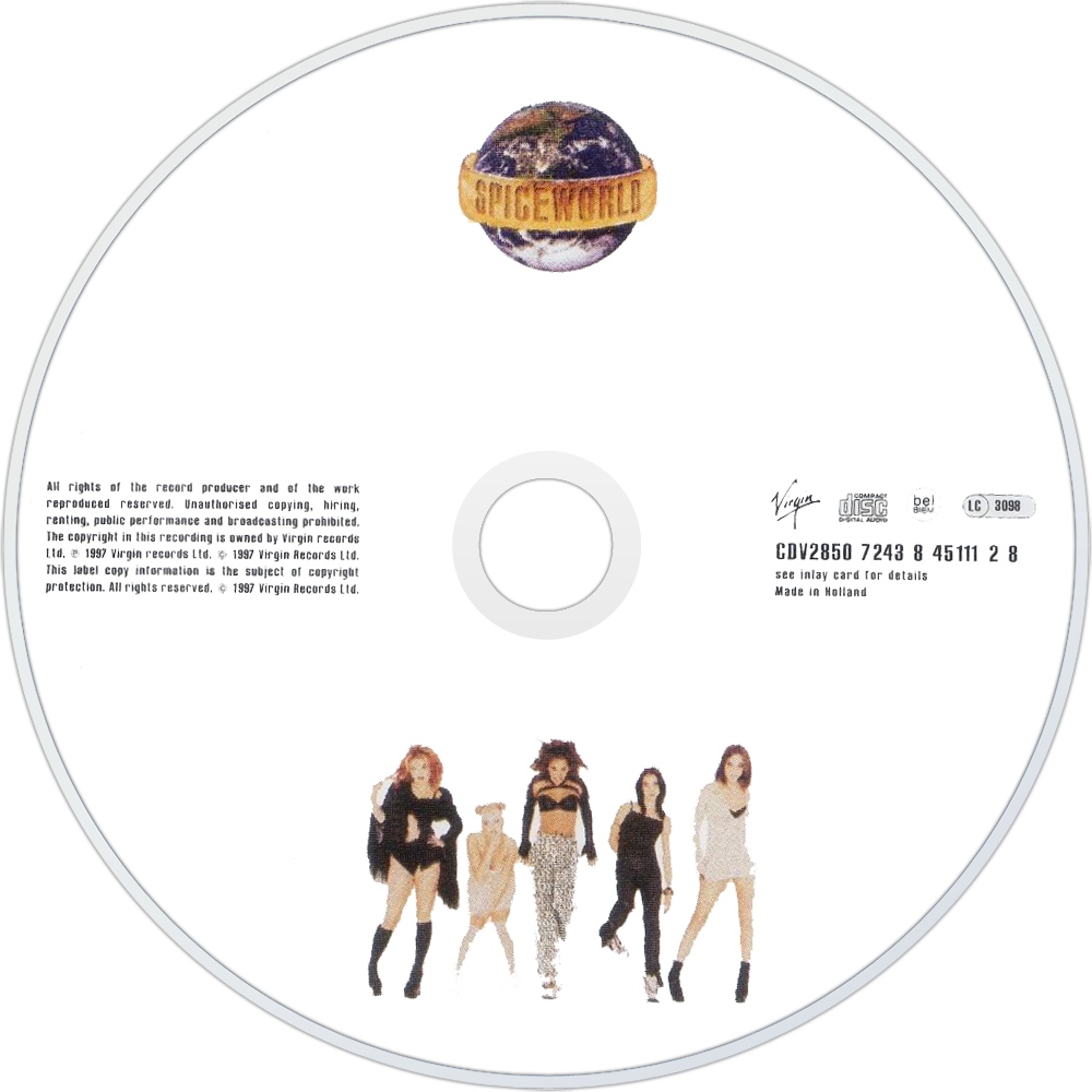Spice Girls Spiceworld Album Spice Girls Spiceworld cd Disc