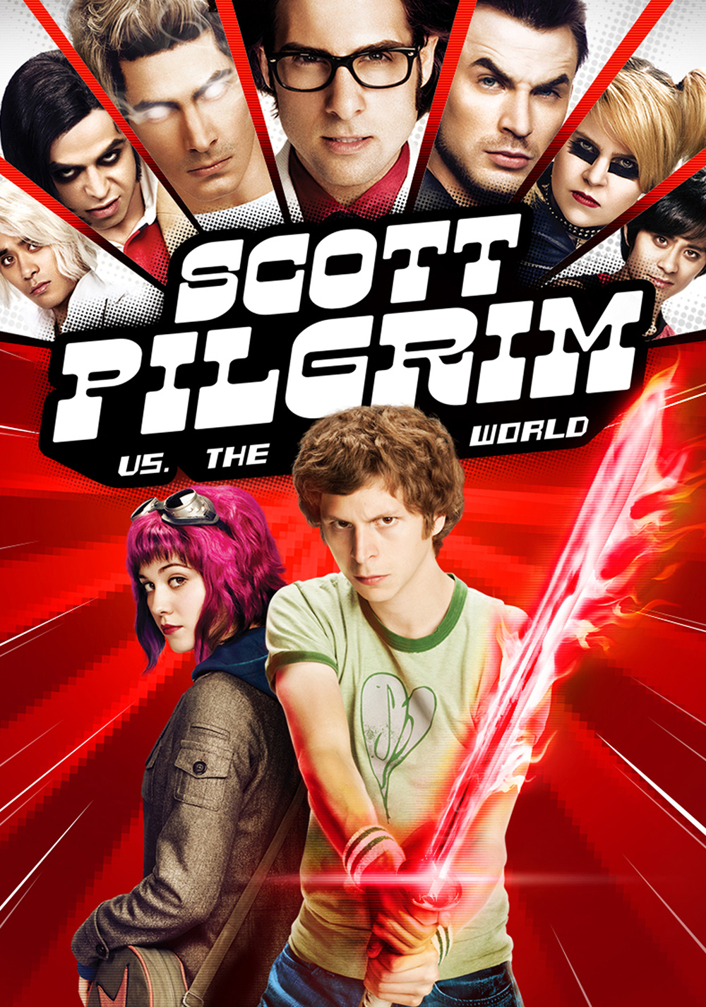 Image result for scott pilgrim vs the world movie poster