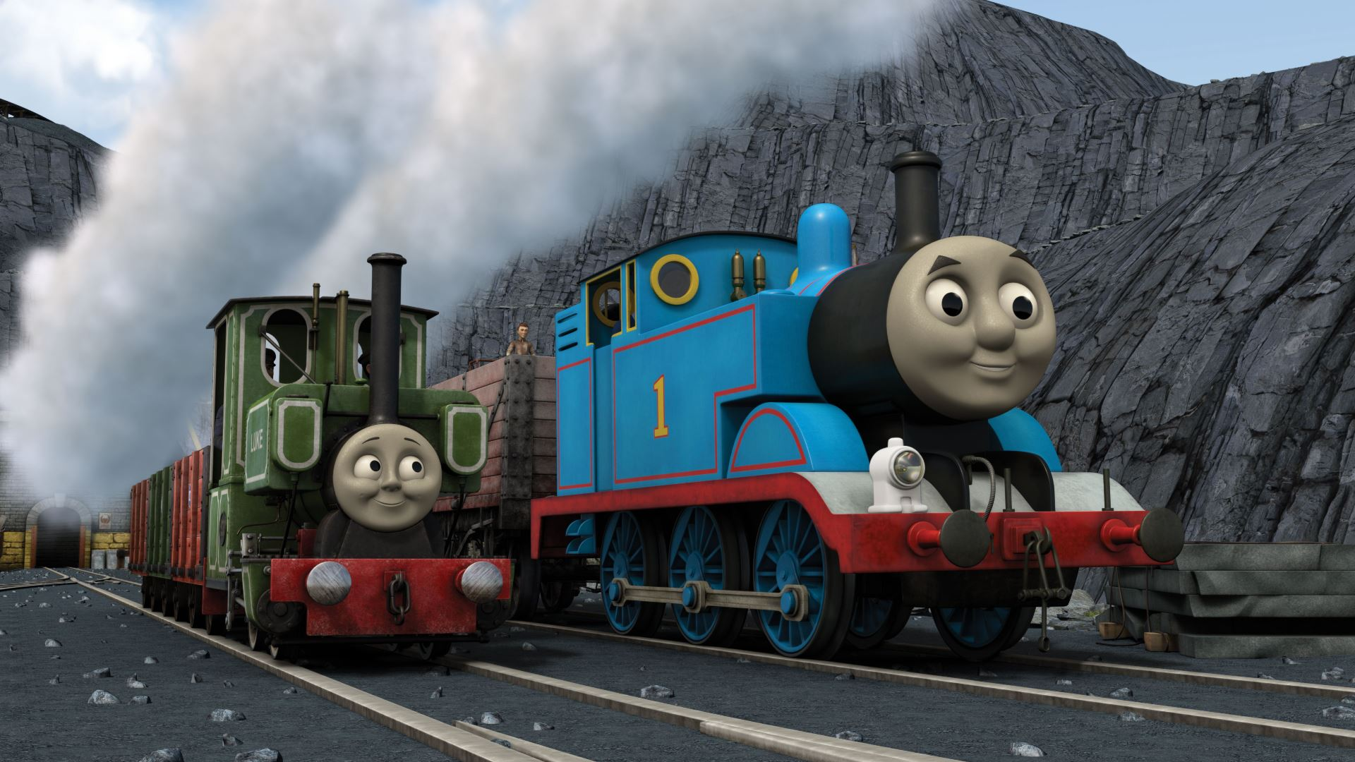 Thomas And Friends Blue Mountain Mystery
