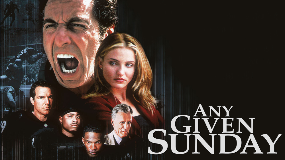Any given sunday movie posters at movie poster warehouse.