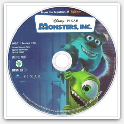 Example of a moviedisc image